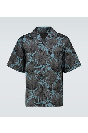 Prada Floral short-sleeved shirt