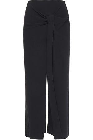 Roland Mouret Woman Fenwick Twisted Cady Wide-leg Pants Size 10