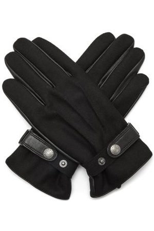Dents Guildford Flannel And Leather Gloves - Mens
