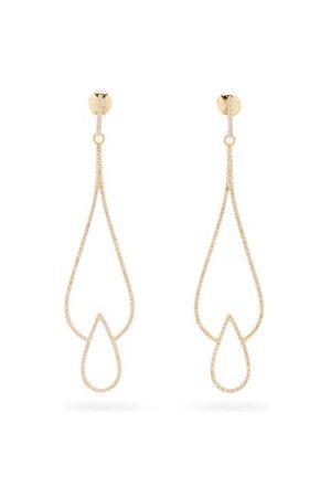 Anissa Kermiche Vanity Fair Diamond & 18kt Earrings - Womens