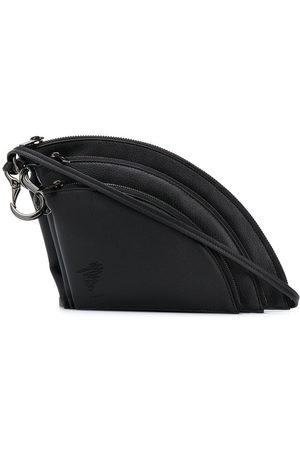 YOHJI YAMAMOTO Triple Pouch shoulder bag