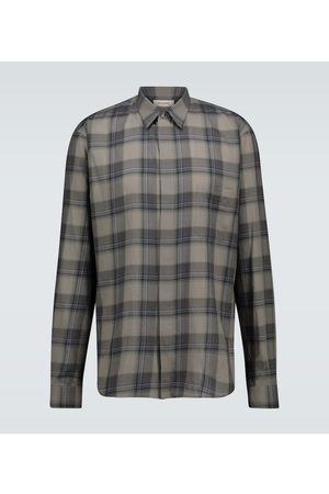 Rochas Raffaella checked cotton shirt