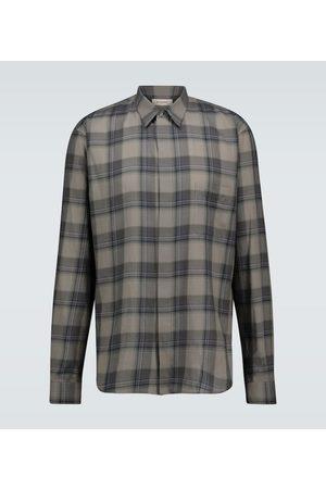 Rochas Raffaella checked cotton shirt
