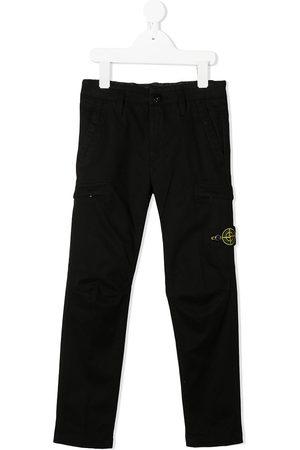 Stone Island Logo cargo trousers