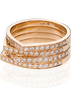 Repossi Antifer 18kt rose gold diamond ring