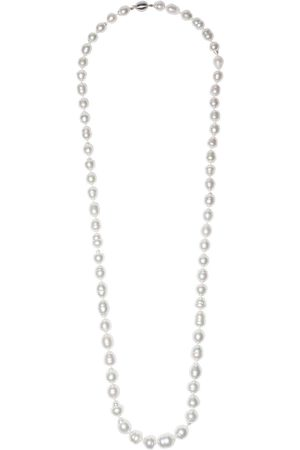Yoko London 18kt white gold Baroque south sea pearl necklace