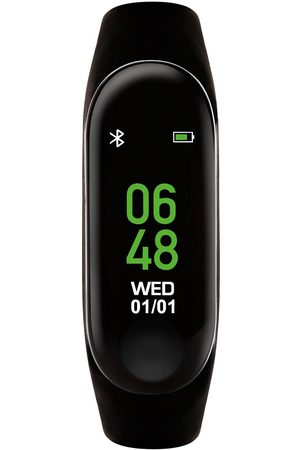 Reflex Active Series 1 Activity Tracker With Colour Touch Screen And Black Silicone Strap