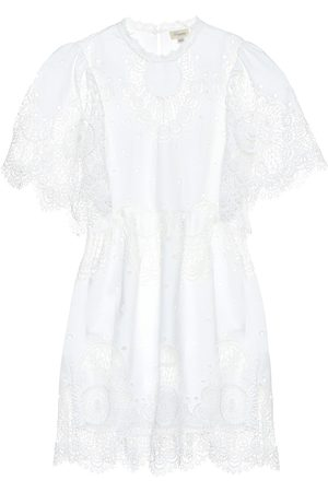 TEMPERLEY LONDON Judy embroidered lace minidress