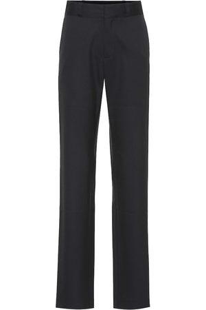 Vetements High-rise stretch-wool pants