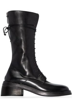 MARSÈLL Mid-calf combat boots