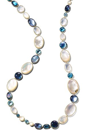 Ippolita 18kt yellow Luce all-stone long necklace