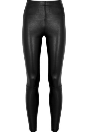 ALICE+OLIVIA Maddox Leather Leggings