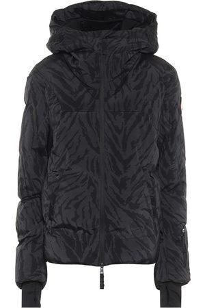 JET SET Julia tiger-print padded ski jacket