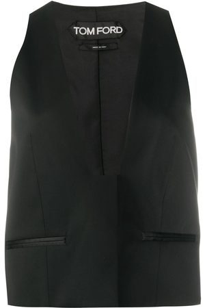 Tom Ford Women Body Warmers - Tailored waistcoat