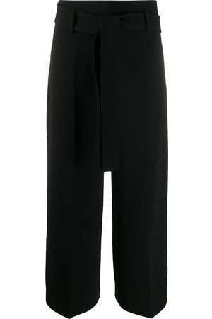 THEORY Cropped wide-leg trousers