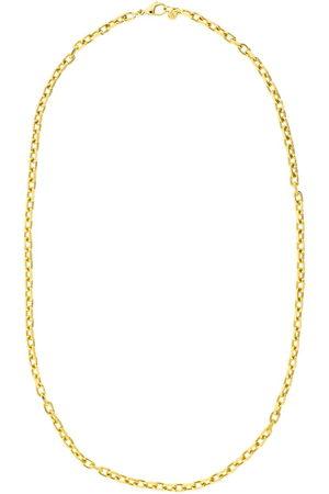 BUDDHA MAMA 20kt yellow diamond-cut cable chain