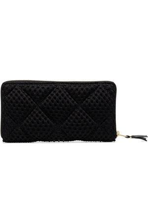 Comme des Garçons Textured ziparound wallet