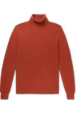 Loro Piana Men Slim - Dolcevita Slim-Fit Baby Cashmere Rollneck Sweater