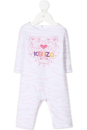 Kenzo Sets - Tiger-print babygrow