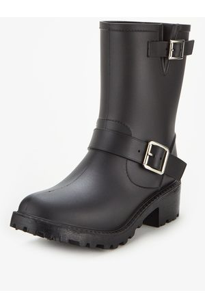 Very Ladies Biker Wellington Boot