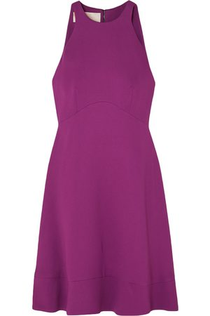 ANTONIO BERARDI Woman Stretch-crepe Mini Dress Magenta Size 38