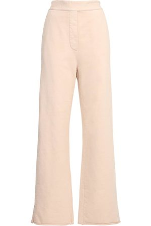MM6 MAISON MARGIELA Cotton Wide Leg Sweatpants