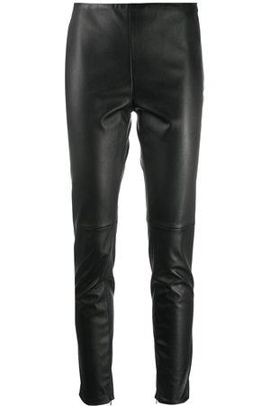 Ralph Lauren Eleanora leather trousers