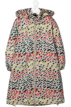 Wolf & Rita Hooded zip-up coat - Neutrals