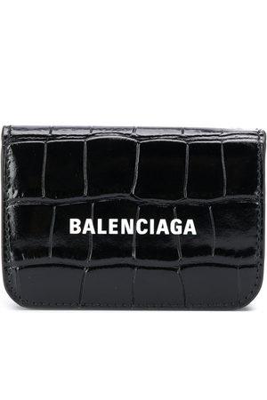 Balenciaga Logo print leather wallet