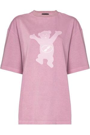 We11 Done Teddy print T-shirt