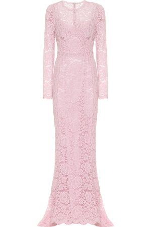 Dolce & Gabbana Guipure lace gown
