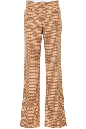 Stella McCartney Claudia high-rise straight wool pants