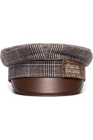 Ruslan Baginskiy Boys Hats - Baker Boy tweed hat