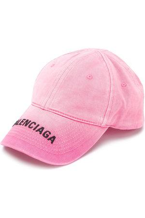 Balenciaga Logo print ribbed cap