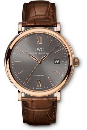 IWC SCHAFFHAUSEN Rose Gold Portofino Watch 40mm