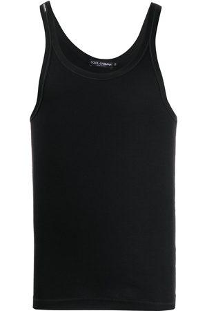 Dolce & Gabbana Scoop-neck tank top