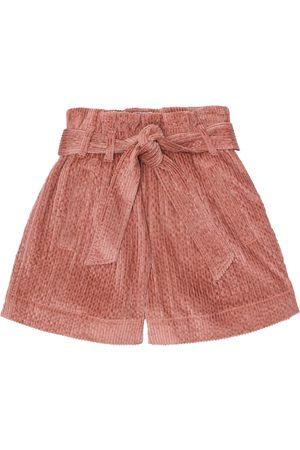 Brunello Cucinelli Corduroy paperbag shorts