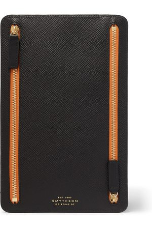 KINGSMAN Men Purses & Wallets - Smythson Cross-Grain Leather Pouch