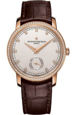 Vacheron Constantin Rose and Diamond Traditionnelle Watch 38mm