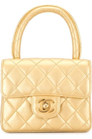CHANEL 1990s diamond quilted mini tote bag