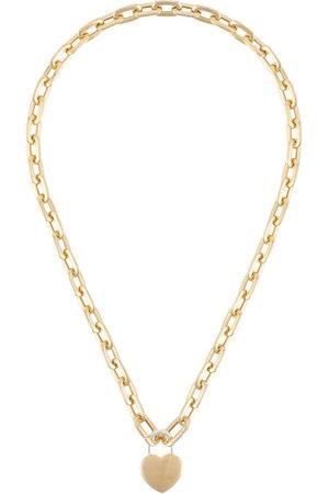 AMBUSH Necklaces - Heart padlock chain necklace