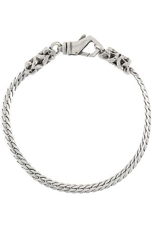 EMANUELE BICOCCHI Herringbone chain bracelet - Metallic
