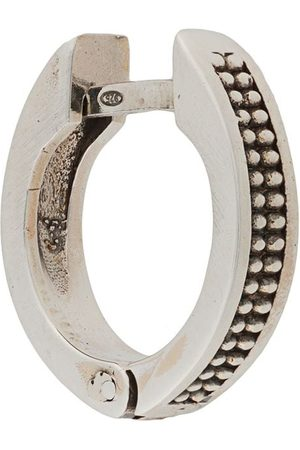 Emanuele Bicocchi Earrings - Dotted textured hoop earring