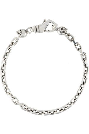 Emanuele Bicocchi Bracelets - Skull-charm chain bracelet