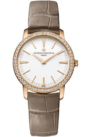 Vacheron Constantin Women Watches - Rose and Diamond Traditionnelle Watch 33mm
