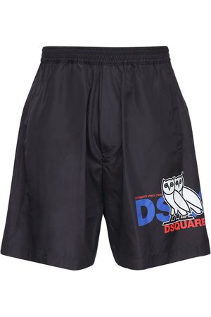Dsquared2 Ovo Capsule Printed Tech Shorts