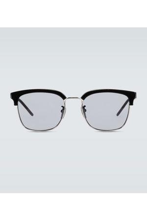 Gucci Square-framed acetate glasses