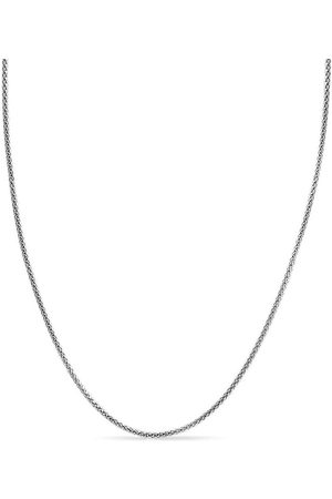 SuperJeweler 925 Sterling 3.5mm Popcorn Chain Necklace, 18 Inches