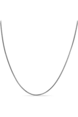 SuperJeweler 925 Sterling 4.9mm Popcorn Chain Necklace, 18 Inches