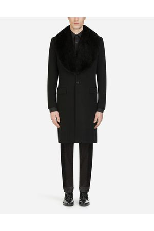 Dolce & Gabbana Coats and Blazers - WOOL AND CASHMERE BROADCLOTH COAT